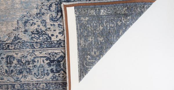 TEPPICH KHAYMA FAIRFIELD BLUE BORDER 8670